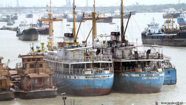 River Transport-Bangladesh