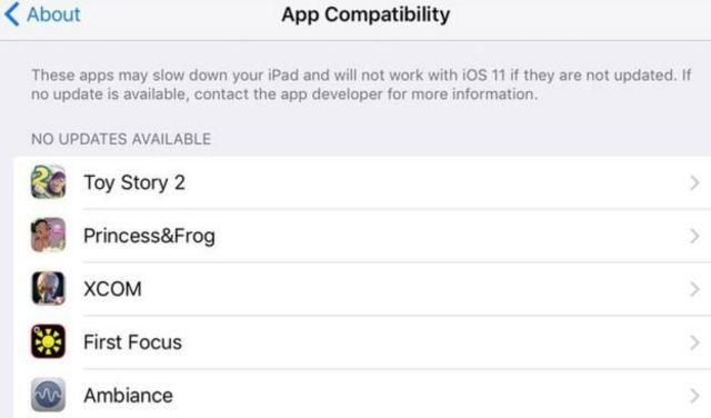 Apple imewezesha utambuzi wa apps ambazo zitasita kufanya kaz