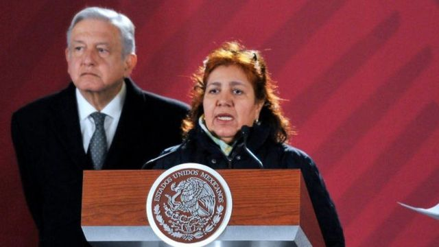 Griselda Triana y AMLO