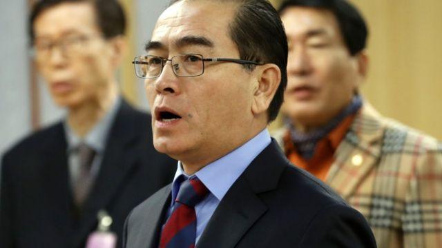 태영호 전 주영국 북한대사관 공사