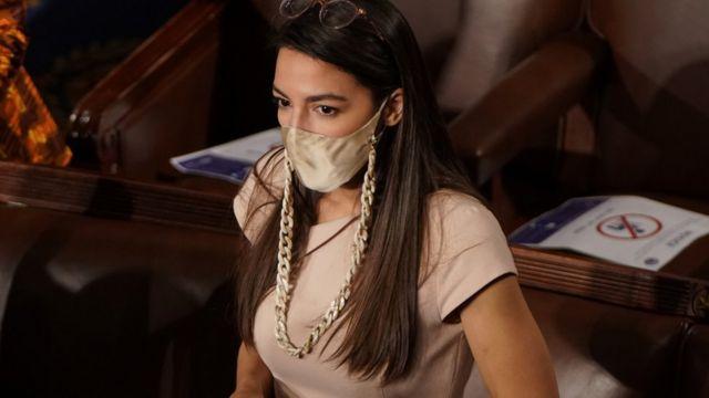 Congresista Alexandria Ocasio-Cortez