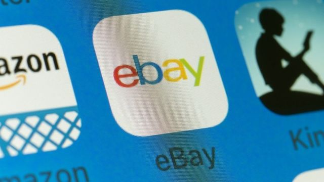eBay App on an iPhone screen