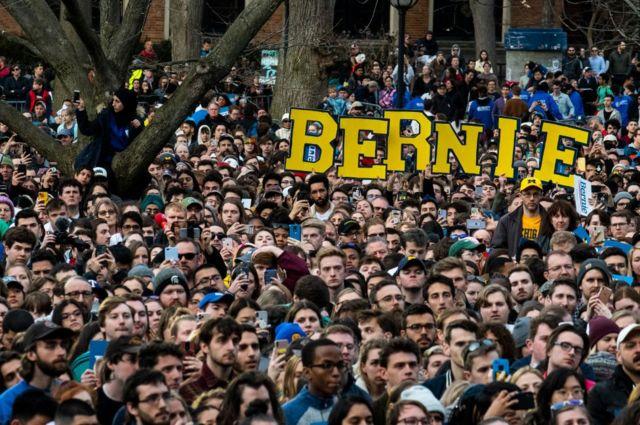 Sanders destekçileri