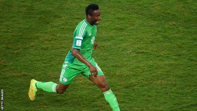 Nigeria's Mikel John Obi