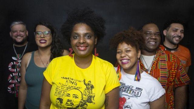 Uma das candidaturas coletivas eleitas pelo PSOL, o Quilombo Periférico, promete priorizar políticas públicas para a periferia e para população negra e de mulheres