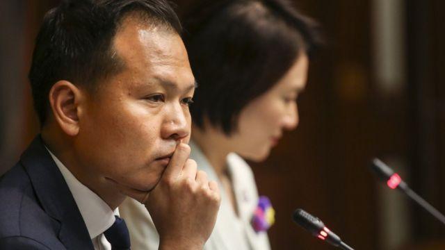 Dennis Kwok, thành viên của Viện Lập Pháp Hong Kong (LegCo)