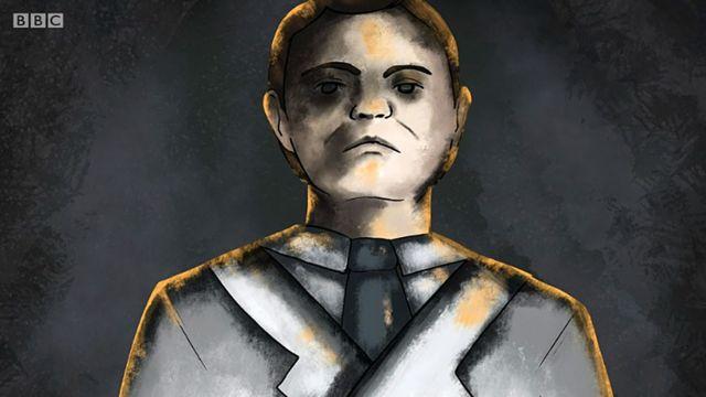 Dibujo de Mengele