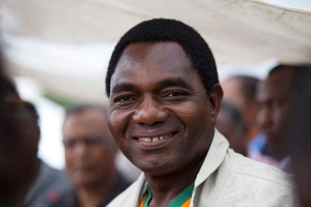 Hakainde Hichilema alikamatwa siku ya Jumatatu usiku baada ya polisi kuvamia nyumba yake mjini Lusaka.