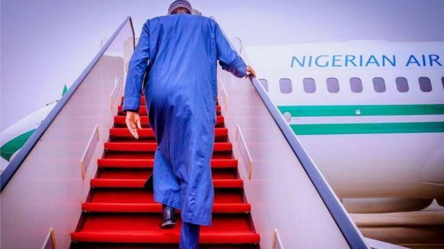 Präsident Muhammadu Buhari