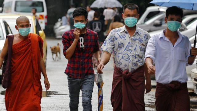H1N1,ရန်ကုန် တုပ်ကွေး