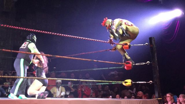 Espectáculo Lucha VaVOOM