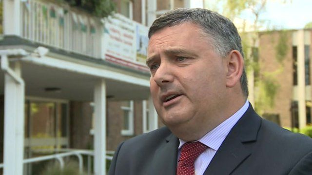 Wrexham council leader Mark Pritchard