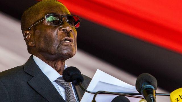 Prezida Robert Mugabe