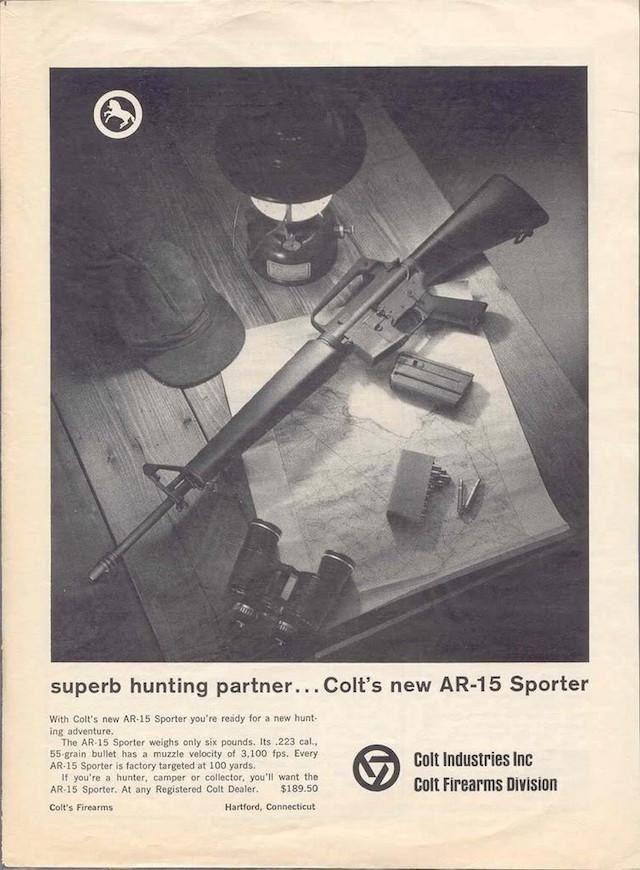AR-15 reklamı