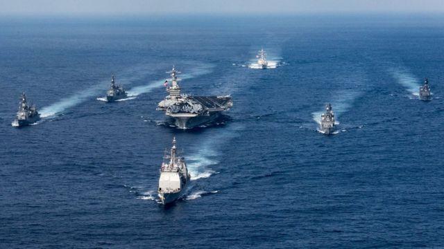قطع بحرية أمريكية