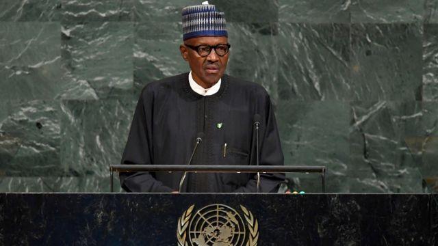 Onyeisiala Naịjirịa Muhammadu Buhari