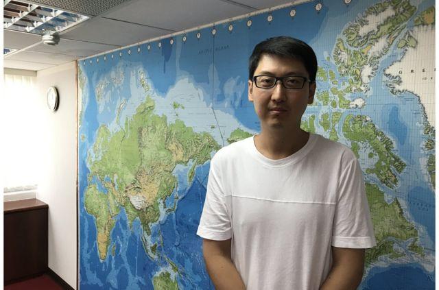 錢震宇目前在青年發展基金會工作,期待國民黨內年輕世代有更多發聲空間。