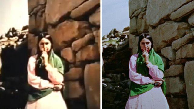 یک نما از مستند قبل و بعد از بازسازی