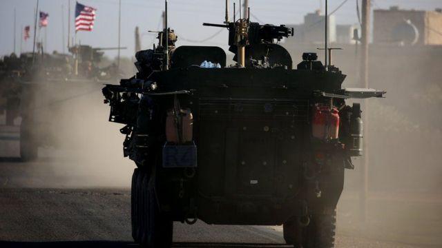 ဆီးရီးယားက အမေရိကန်တပ်များ