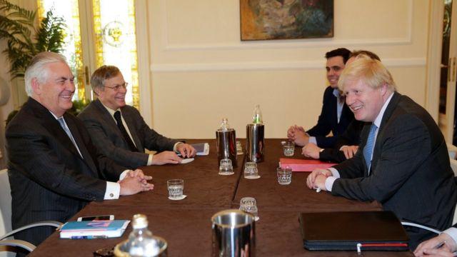 Ministros de Relações Exteriores se encontram em Lucca, na Itália
