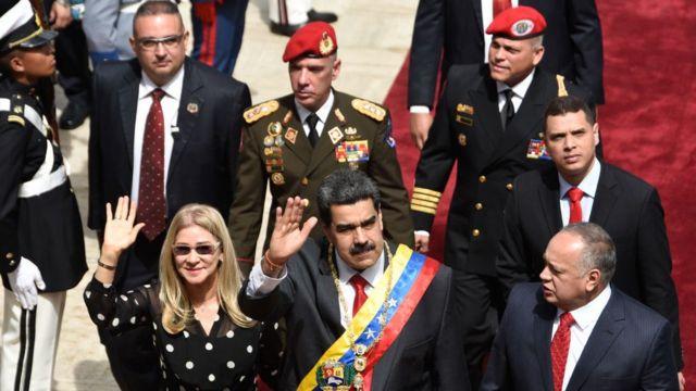 Maduro y Cabello.