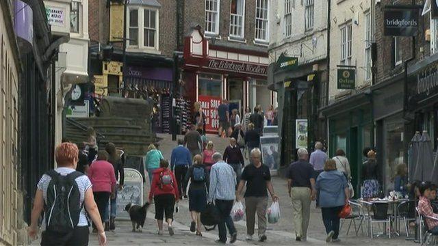 Voters in Durham