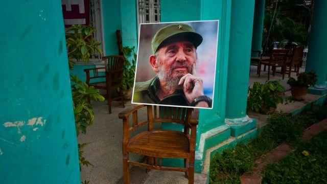 Fidel Castro-nun portreti