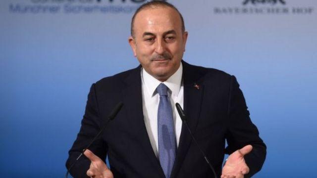 مولود چاووشاوغلو وزیر امور خارجه ترکیه