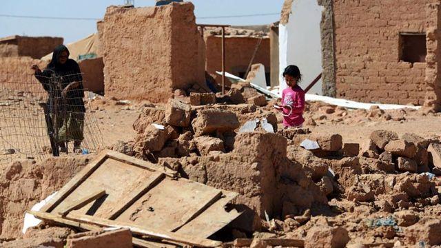 Sahrawi refugee camp in Tindouf.