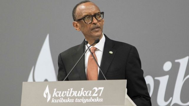 Paul Kagame avuga ijambo mu gutangiza ibikorwa byo kwibuka 07/04/2021, Kigali Arena