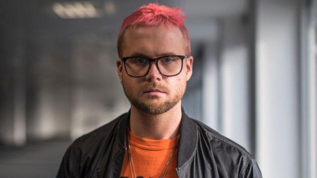 Портрет бывшего сотрудника Cambridge Analytica Кристофер Уайли