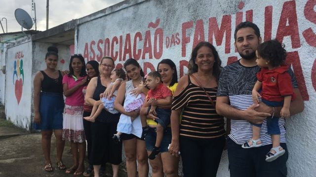 Associação de famílias de crianças com síndrome congênita da Zika