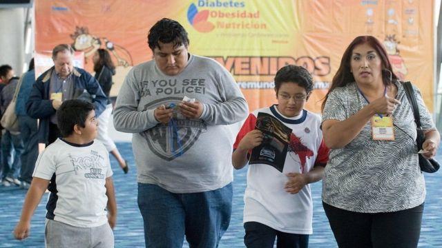 Obesos en México