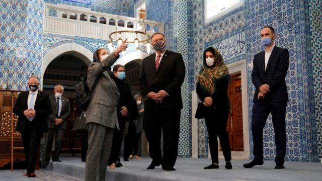 Pompeo Rüstem Paşa Camii'nde