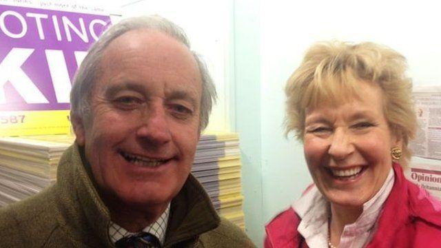 Neil a Christine Hamilton