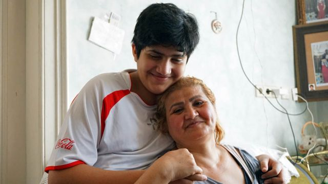 Mohammed and his mum