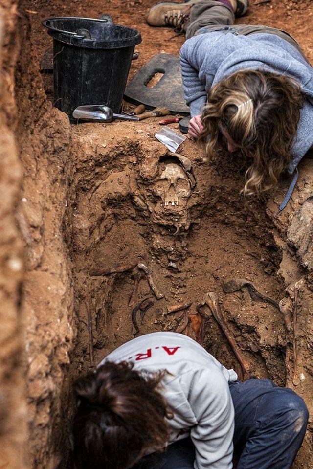 Exhumación en Guadalajara