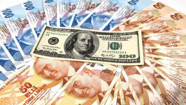 Türk lirası dolara karşı değer kaybetti