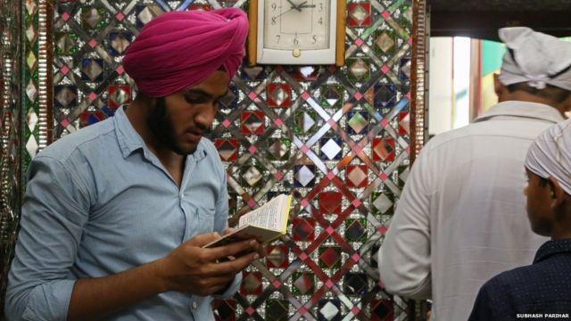 Devotees at Baba Farid Mela.