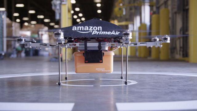 Drone 'Prime Air' da Amazon
