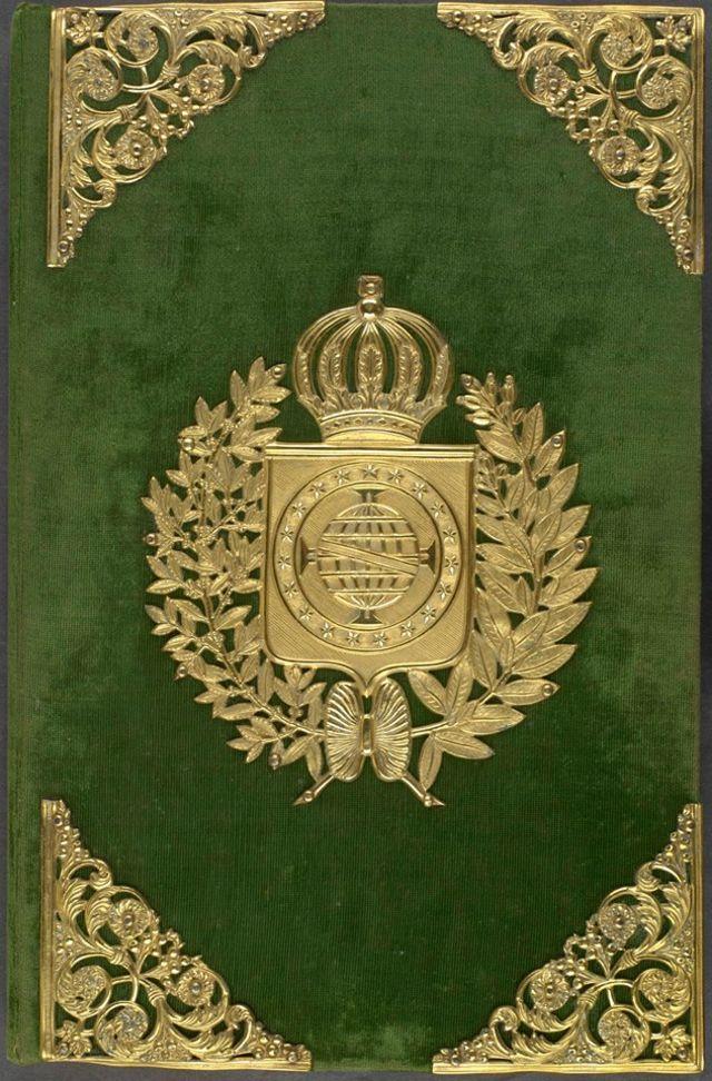 Capa da Constituição de 1824