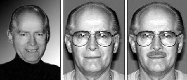 Nyuso tofauti za Whitey Bulger katika picha za FBI