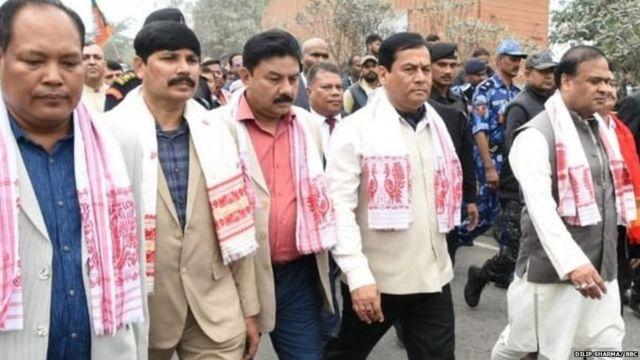 असम के मुख्यमंत्री सर्बानंद सोनोवाल