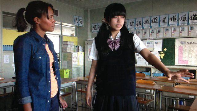 Leah and Hinako
