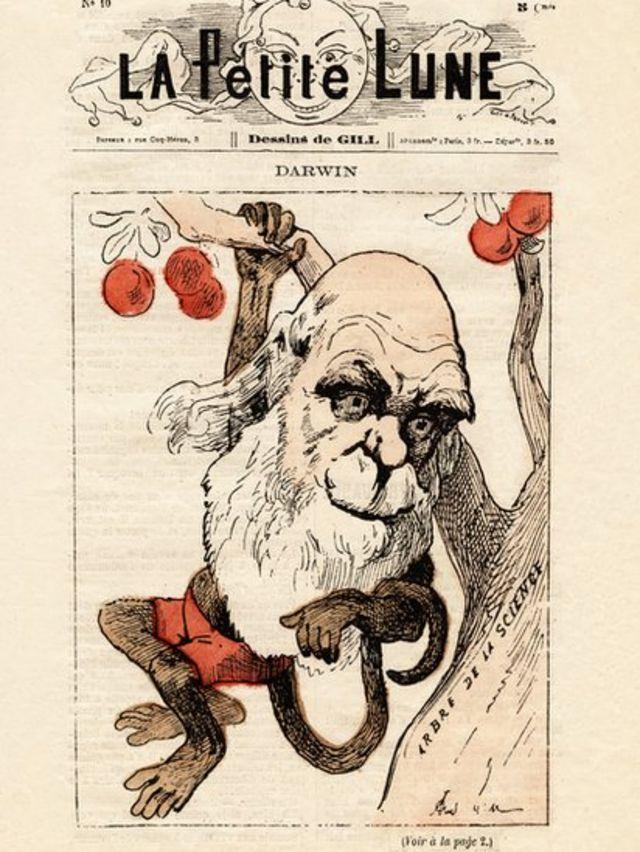 La couverture du magazine satirique français La Petite Lune en 1871