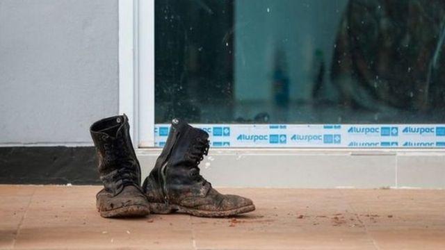รองเท้าทหาร