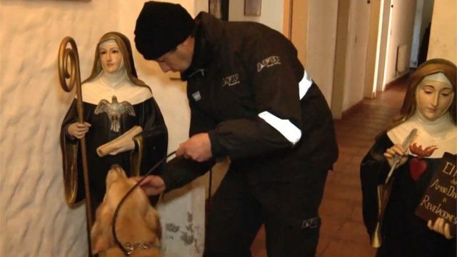Argentine nuns 'helped hide cash and jewels hoard'