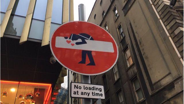 Edinburgh's road signs hacked by artist