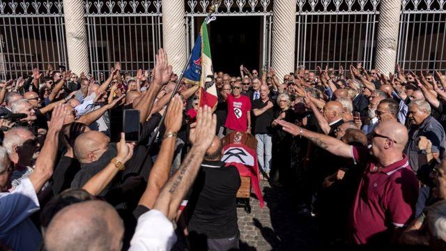 Protesto fascista