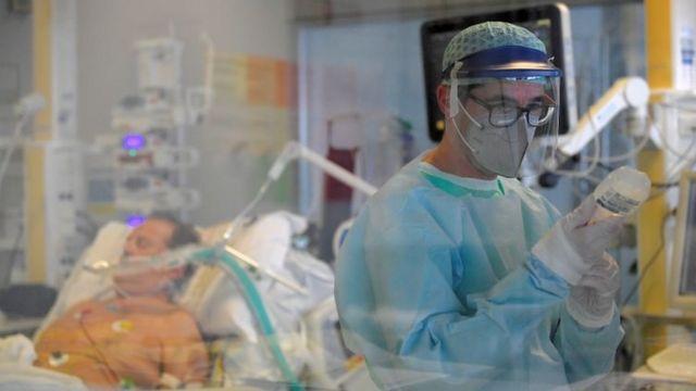 İtalya'da bir koronavirüs hastası